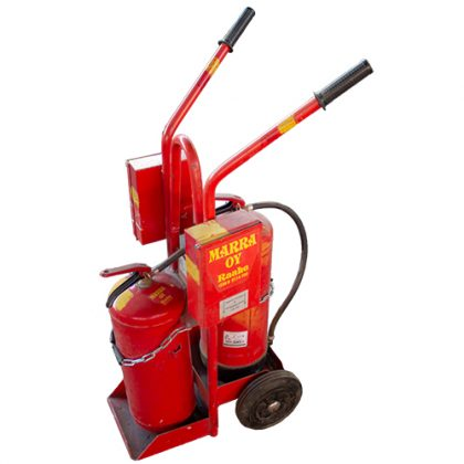 Extinguishing trolley
